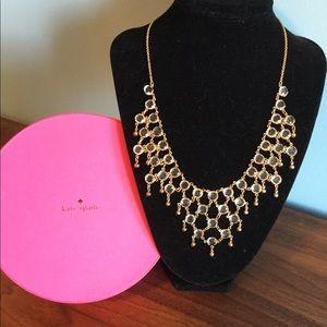 Kate Spade 12k GOLD Sparkle Dunes Necklace